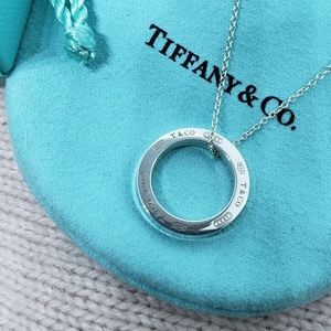 Tiffany & Co 1837 Circle Necklace